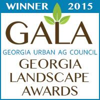 Gala Winner 2015 Georgia Landscape Awards
