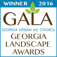 Gala Winner 2016 Georgia Landscape Awards